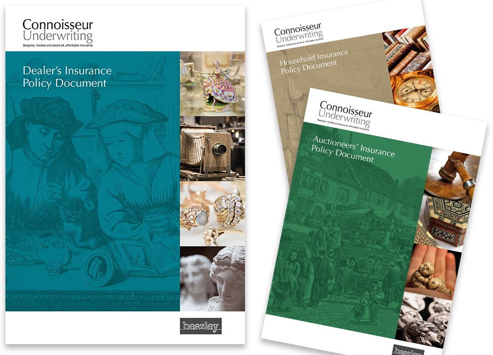 Cover designs for Beazley Insurance